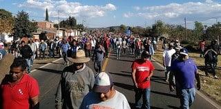 Comunidades indígenas en contra del gasolinazo
