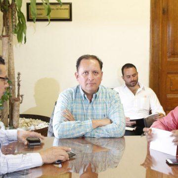 Raúl Prieto preside reunión de la JUCOPO