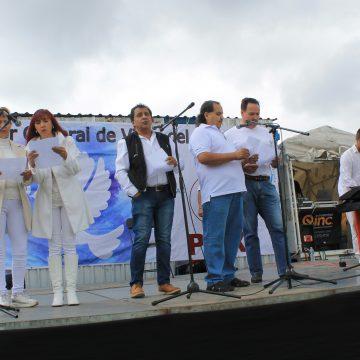 Participó el Coro Quodlibet en evento   por La Paz en Villas del Pedregal