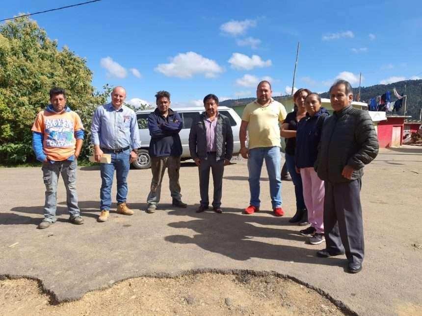 Revisan detalles para arranque de obra de pavimentación en Tlalpujahilla