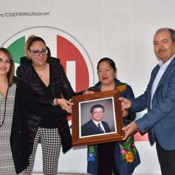 Honra PRI memoria de Héctor Terán Huerta