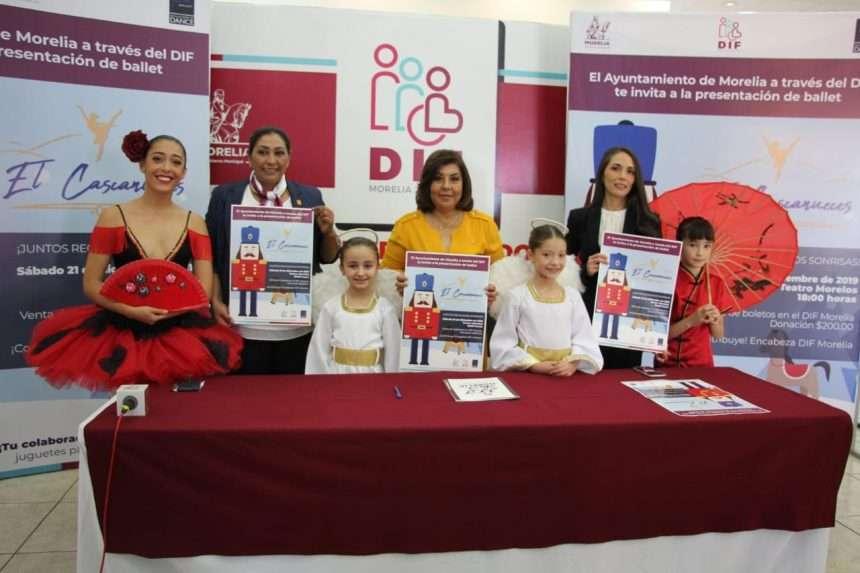 DIF Morelia llevará sonrisas a zonas vulnerables