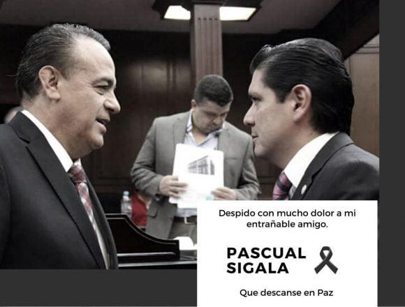 Lamenta Ernesto Núñez sensible  fallecimiento de Pascual Sigala