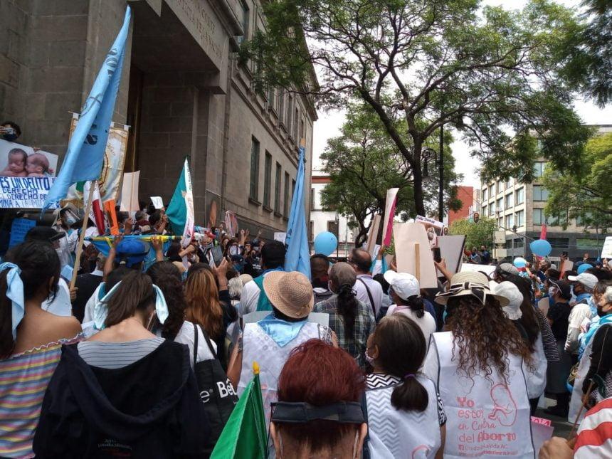 Grupos Provida piden a la SCJN  no se apruebe el aborto
