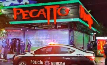 Balacera en el bar Pecatto:  Hay dos empleados heridos