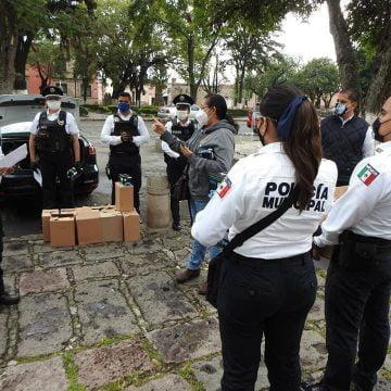 Van 18 asaltos a mano armada en Morelia y los policías cuidando medidas de salud por COVID19
