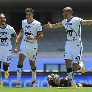 PUMAS golea al Puebla 4-1