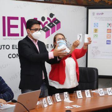 IEM sortea tiempos en radio y televisión a  partidos políticos y candidatos independientes