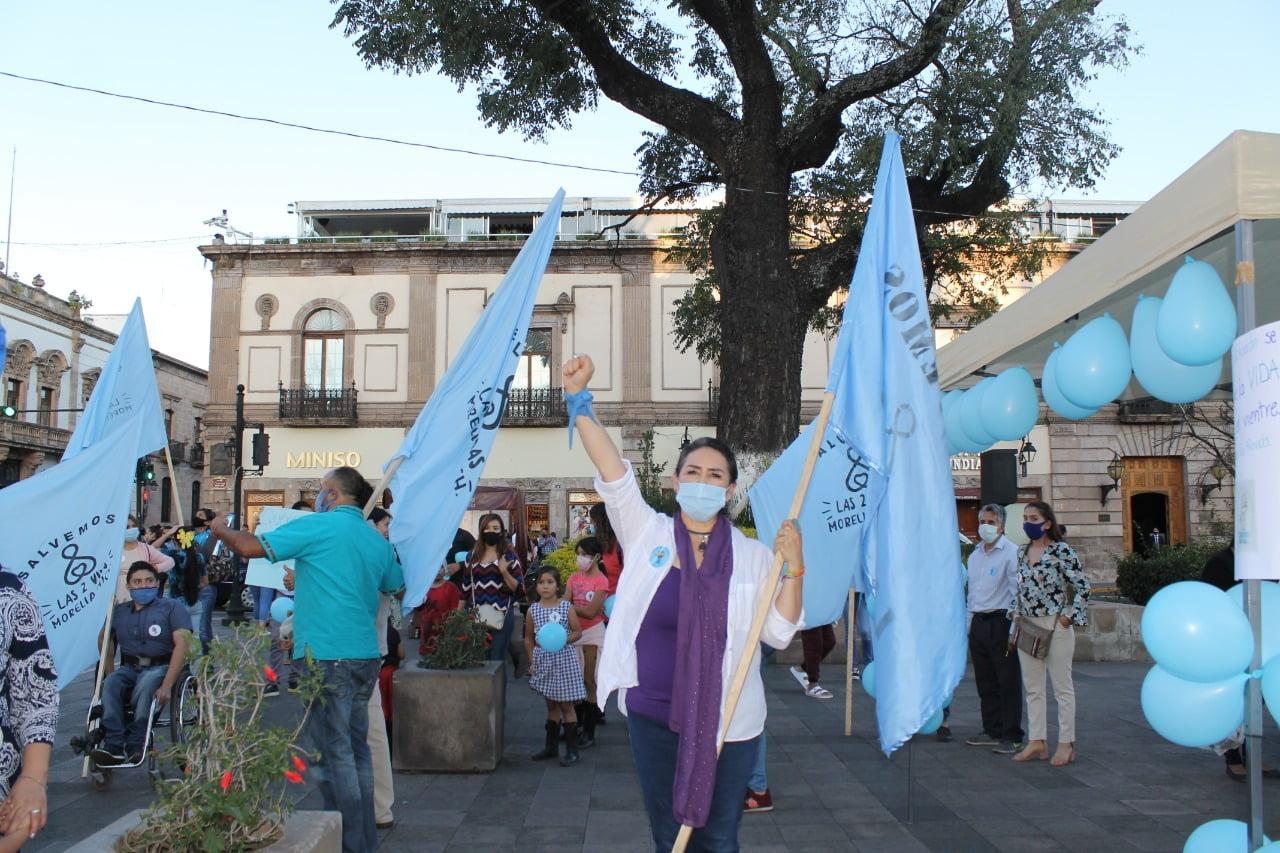 Inhumanos, ignorantes y violadores del juramento Hipocrático,  diputados de la 74 Legislatura en Michoacán: Tzitziky Peña