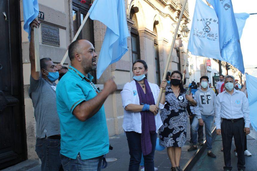 Los diputados Brenda Fraga y Osiel Equihua  promotores del aborto en Michoacán: OG