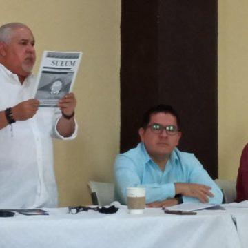 SUEUM exige renuncia de Raúl Cárdenas a la Rectoría