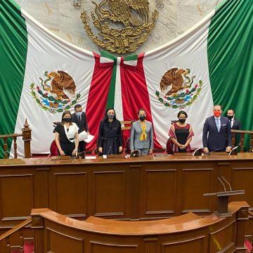 Designan a Adriana Hernández Presidenta de la Mesa Directiva del Congreso del Estado