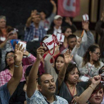 Liderazgos de Morena manifiestan su apoyo a Alfredo Ramírez Bedolla