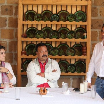 Alcalde de Pátzcuaro se reunió con el titular de turismo estatal