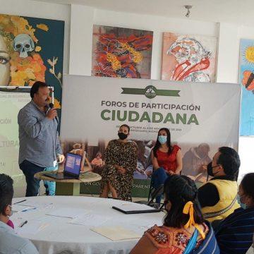 Inauguró Julio Arreola los Foros de Participación Ciudadana