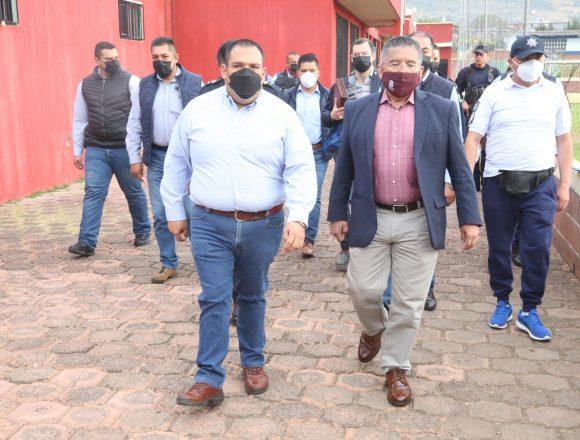 Secretario de SP da arranque de evaluación para aspirantes a policías de Tarímbaro