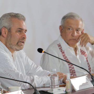 AMLO cumplirá a Michoacán con federalización de nómina educativa: Bedolla
