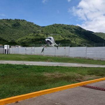 Mujer embarazada y con síntomas de COVID 19 es trasladada en helicóptero a Morelia