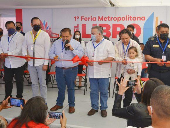 Inauguran Feria Metropolitana del Libro en Tarímbaro